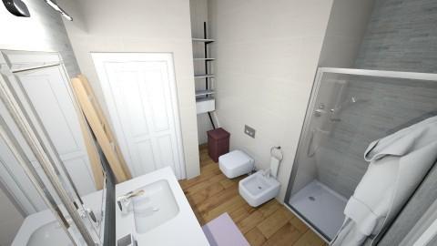 Bath FIRST FLOOR - Glamour - Bathroom - by RosaFerrara