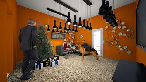 Christmas day - Living room - by Lani torres