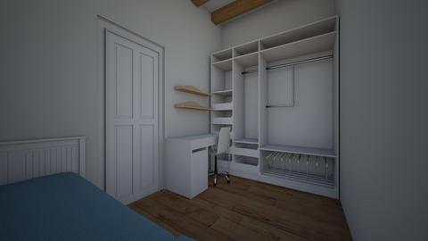 habitaciooooo saraaa - Modern - Bedroom  - by saraortiz