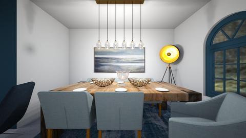 Petrol Mod Kitchen Diner - Kitchen  - by KylaTH