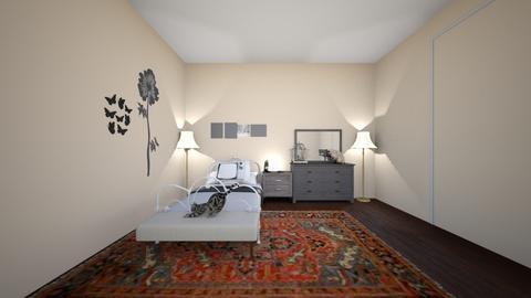 Lilys vintage room - Vintage - Bedroom  - by Lily Knapp