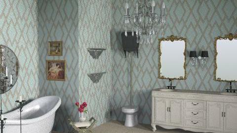 bathroom - Classic - Bathroom  - by crystal aston