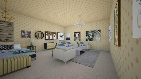 Brown Summers Bdrm - Modern - Bedroom - by Elf_prettyballetgirl16