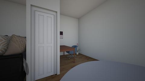 droom slaapkamer take 2 - Modern - Bedroom  - by elinevandewetering