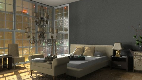 Sleeping in the City - Modern - Bedroom  - by kishwick