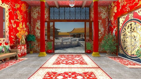 Palace of Perfect Harmony - Classic - Living room - by Bibiche