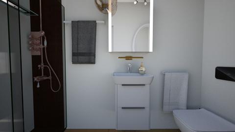 Cologno M bathroom 1 - Bathroom - by natanibelung