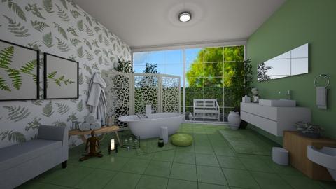 Bath Tub - Feminine - Bathroom  - by Irishrose58