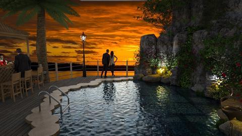 Design 525 Paradise Hotel - Garden  - by Daisy320