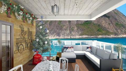 Natal tropical - by Carla Braga