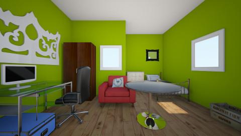 simple room - Bedroom - by tizziana leivas