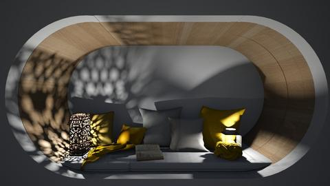 Bed Nook 4 - Minimal - Bedroom  - by l i a