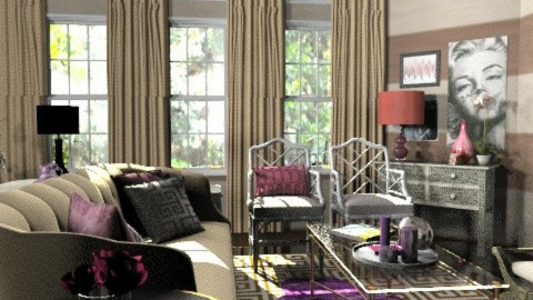 Glam it up! No.1 - Glamour - Living room  - by MaryFerrisFDC
