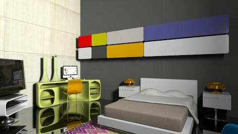 Bedroom by Ruiadam - Minimal - Bedroom  - by ruiadam