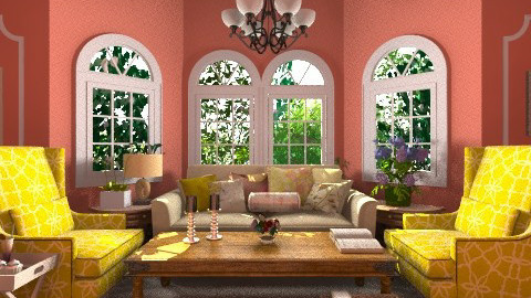 relaxing place - Living room - by PaperFlower