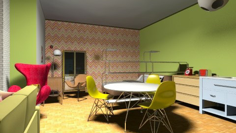 Retro 1950s apartment - Retro - by supercoolchic
