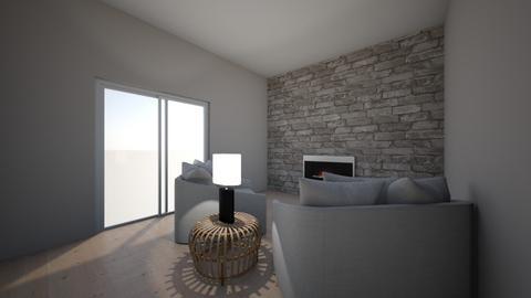 Den - Living room  - by allirenee37