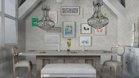 Secret dinners i - Eclectic - Dining room  - by hunny