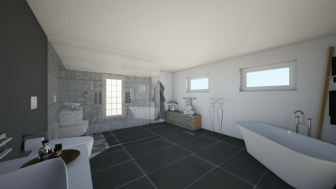 bad kjeller - Classic - Bathroom  - by dangluckstad