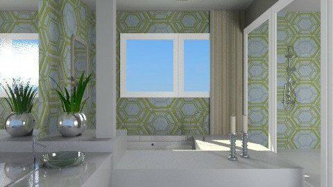 Treasures - Modern - Bathroom  - by channing4