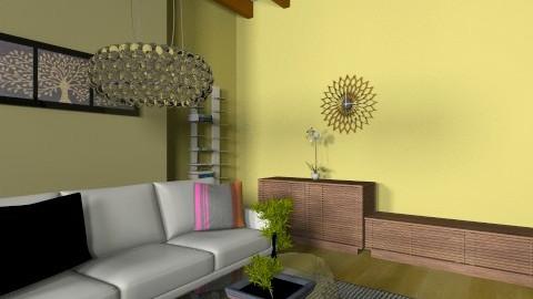 DWRLeeLine - Eclectic - Office  - by evakarwowska