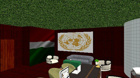 UN office Saudi  - Modern - Office  - by lovemydecor