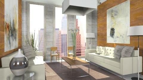Classy Modern - Modern - Living room  - by Baustin