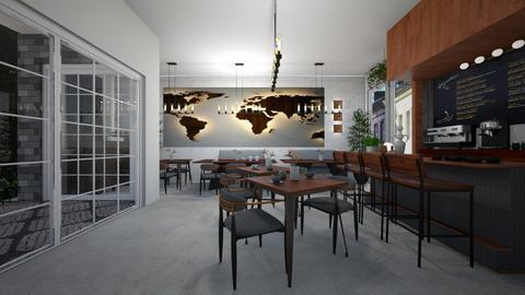 Dream Cafe a - by Themis Aline Calcavecchia