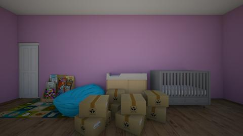 still unpacking - Modern - Kids room  - by skz1