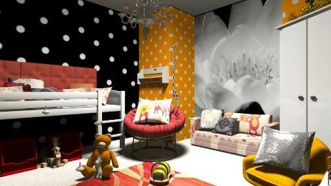 may annas room - Bedroom  - by Lovelil