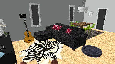 Little apartment - Living room  - by Kaarina