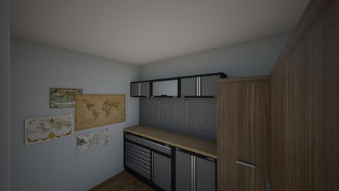 VILA HOUSE - Rustic - Living room  - by SOPHIA DREILICK