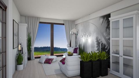 white one - Living room  - by ewcia3666