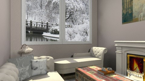 soft winter - Rustic - Living room  - by beabiabolhas