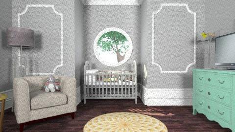 Serena's Nursery - Classic - Kids room  - by Yoshi Yogataga