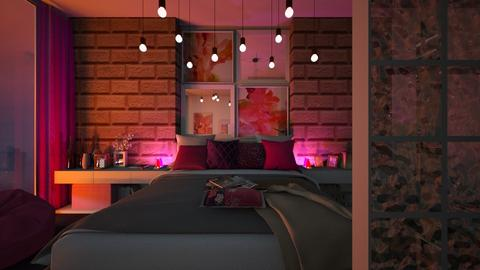 Pretty in Pink - Glamour - Bedroom  - by Bee0196