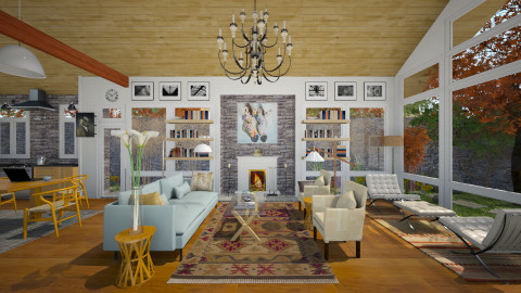 shotgunLV - Modern - Living room  - by russ