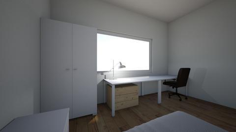 mi pieza idea - Modern - Bedroom  - by diegoortiz