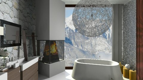 Bathroom  - Eclectic - Bathroom  - by katarina_petakovi