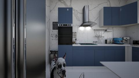 mns ktchn - Modern - Kitchen  - by Jessi Bust