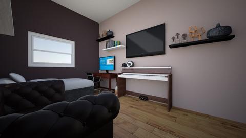 cuarto 1 - Minimal - Bedroom - by brandongloria