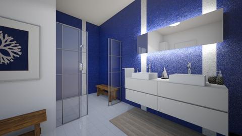 navy - Bathroom  - by Evelyn1981