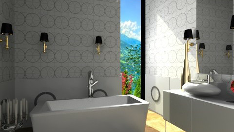 Sunday Bubbles - Glamour - Bathroom  - by 3rdfloor