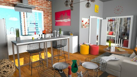 Studio Apartment - Eclectic - by idesine