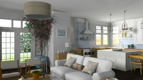 Random Spaces - Kitchen/Living Area - Classic - by LizyD