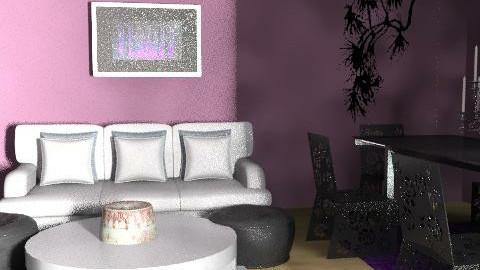 designer room - Glamour - Living room  - by nindzser