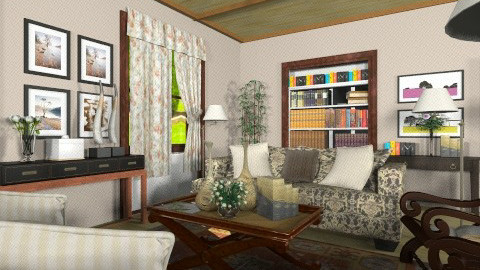 XXX - Country - Living room  - by XValkhan