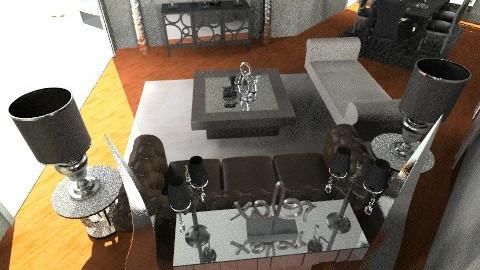 Annette LiveDineGlam2 - Glamour - Living room - by pdsmatt