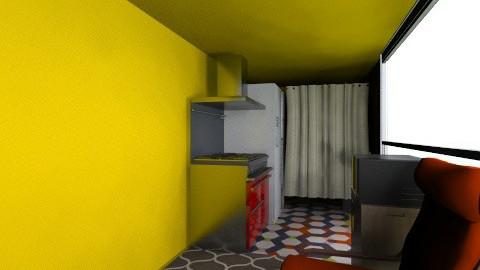 limuzin - Rustic - Living room  - by kikazsu