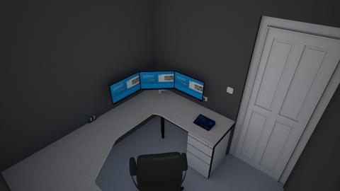 Habitacion Gamer - Office  - by SupernovaPK